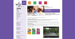 Joomla website Wijz Zwolle
