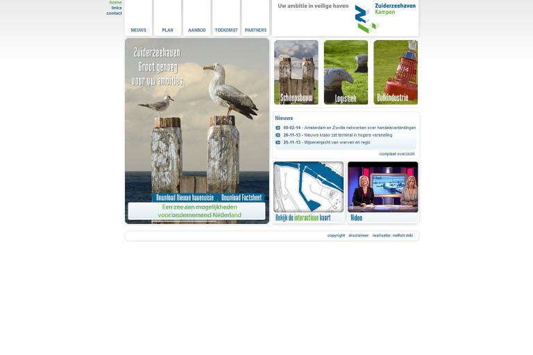 joomla-website-zuiderzeehaven