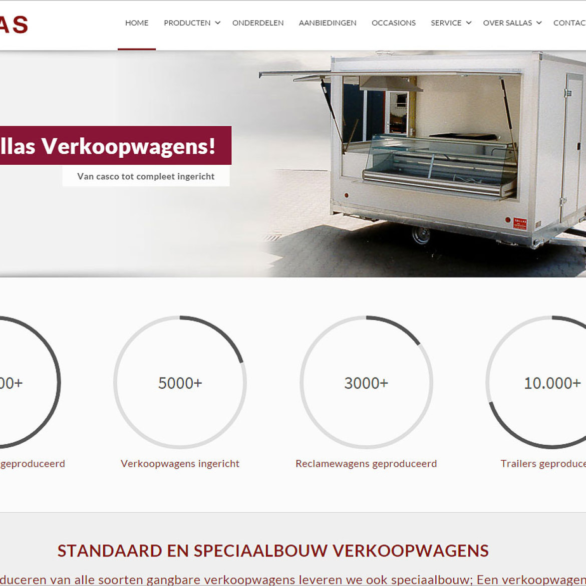 WordPress website Sallas Zwolle
