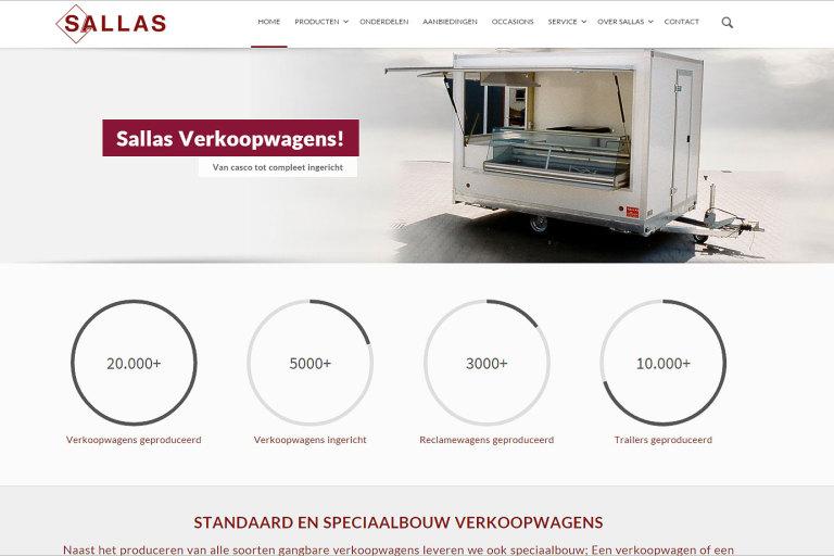 WordPress website Sallas Zwolle