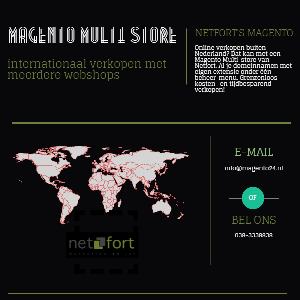 Magento Multistore Infographic
