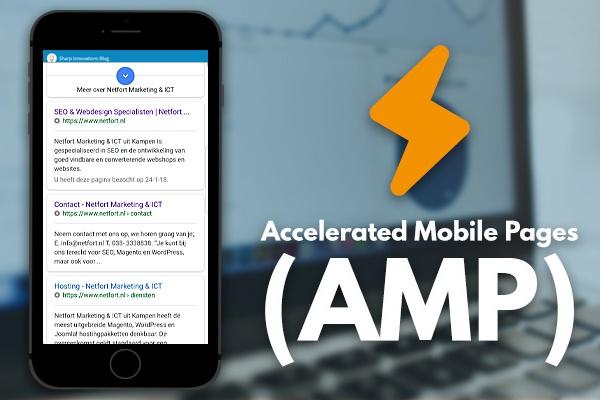Accelerated mobile pages van Netfort