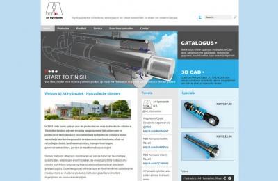 A4 Hydrauliek - Netfort SEO en Webdesign Kampen