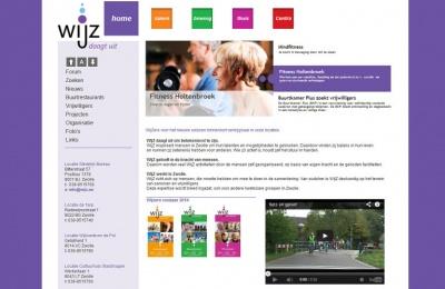 Joomla website WIJZ Zwolle - Kampen