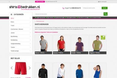 Shirts bedrukken - Netfort SEO en Webdesign Kampen