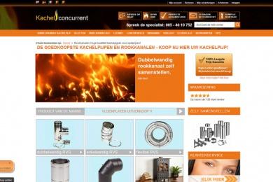 Magento webshop Kachelconcurrent