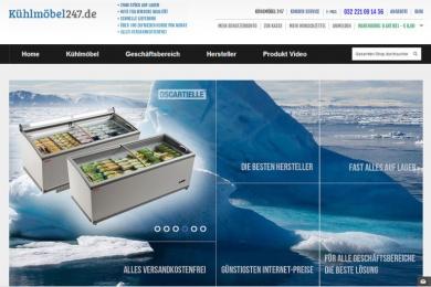 Kuhlmobel Duitsland - Netfort SEO en Webdesign Kampen