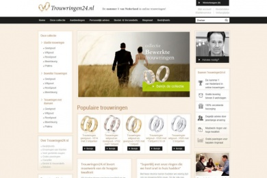 Trouwringen24.nl - Netfort SEO en Webdesign Kampen