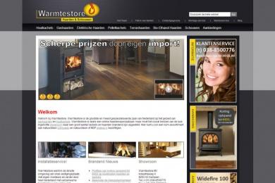 Warmtestore - Netfort SEO en Webdesign Kampen