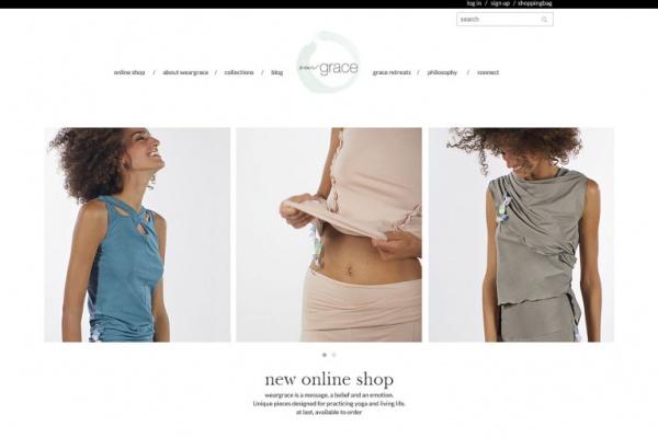Wear Grace Italië - Netfort SEO en Webdesign Kampen