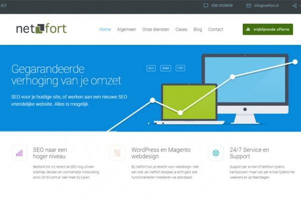 Nieuwe website Netfort Kampen
