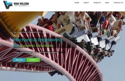 WordPress website voor van Velzen